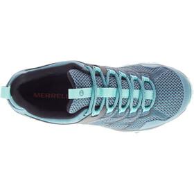 Merrell Moab FST 2 GTX Chaussures Femme, blue smoke